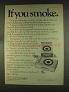 1976 Vantage Cigarettes Ad - If You Smoke