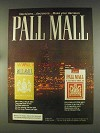 1976 Pall Mall Cigarettes Ad - Decisions... Decisions