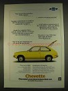 1976 Chevy Chevette Ad - Get It Fixed Anywhere