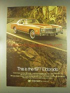 1977 Cadillac Eldorado Ad - This is