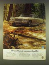 1976 Cadillac Car Ad - You Don't Have to Pamper