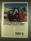 1976 The Home Insurance Company Ad - Down-To-Earth