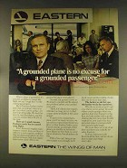 1976 Eastern Airlines Ad - Grounded Plane No Excuse