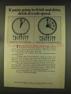1976 Distilled Spirits Council of the United States Ad