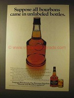 1976 Seagram's Benchmark Bourbon Ad - Unlabeled