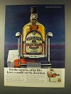 1976 Chivas Regal Scotch Ad - Cradle on the Doorstep