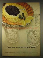 1976 Chivas Regal Scotch Ad - Guess What Served