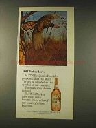 1976 Wild Turkey Bourbon Ad - Wild Turkey Lore
