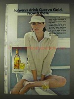 1976 Cuervo Especial Tequila Advertisement - I Always Drink