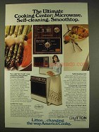 1976 Litton Micromatic Double-Oven Microwae Range Ad
