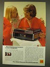 1976 Kodak Ektasound Moviedeck Ad - Sound Movies