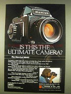 1976 Mamiya M645 Camera Ad - Is This the Ultimate?