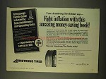 1976 Armstrong Tires Ad - Fight Inflation