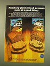 1976 Pillsbury Quick Bread Mix Ad - More Good Thing