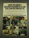 1976 U.S. Army Reserve Ad - Earn a Second Income