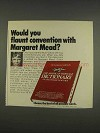 1976 The American Heritage Dictionary Ad, Margaret Mead