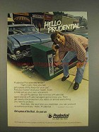 1976 Prudential Insurance Ad - Hello, Prudential