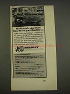 1976 Bradley GT Sports Car Ad - Made Your Mark