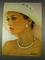 1978 Monet Ondine Collection Necklace and Earrings Ad