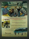 1978 Bermuda Tourism Ad - A Sense of Pride in Island