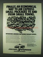 1978 Airborne/Greyhound Package Express Ad - Economical