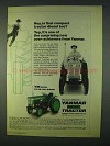 1978 Yanmar YM Series Tractors Ad - Is That Compact