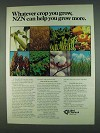 1978 Allied Chemical NZN Plant Food Ad