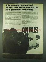 1978 American Angus Association Ad - Research Proves