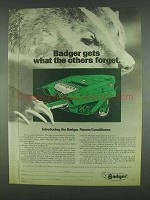 1978 Badger Mower/Conditioner Ad - What Others Forget