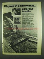 1978 Gehl Forage Harvester Ad - Model 800, 700 and 1200