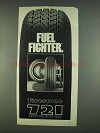 1978 Firestone 721 Tires Ad - Fuel Fighter