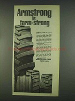 1978 Armstrong Farm Tires Ad - Is Farm-Strong