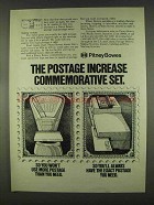 1978 Pitney Bowes Postage Scale / Meter System Ad