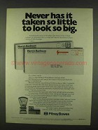 1978 Pitney Bowes Postage Scale and Postage Meters Ad