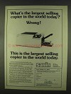 1978 Savin 770 Copier Ad - Largest Selling in World