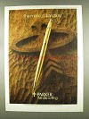 1978 Parker Classic Imperial Ball Pen Ad - Distinction