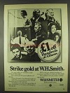 1978 W.H. Smith Albums Ad - Strike Gold