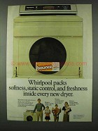 1978 Bounce Dryer Sheets Ad - Whirlpool Packs