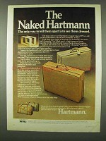 1978 Hartmann Luggage Ad - The Naked Hartmann
