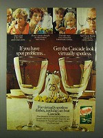 1978 Cascade Detergent Ad - If You Have Spot Problems
