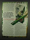 1978 Scotts Spoon Fed Care Ad - For Houseplants