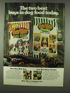 1978 Bow Wow and Bow Wow Chunks Dog Food Ad