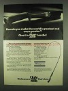 1978 Shakespeare Ugly Stik Fishing Rod Ad - Greatest