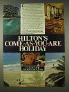 1978 Hilton Hotels Ad - Come-as-You-Are Holiday