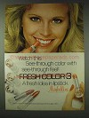 1978 Maybelline Fresh Color 3 Lipstick Ad