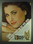1978 Cover Girl Oil-Control Make-up Ad - All-Day