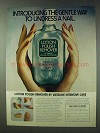 1978 Vaseline Intensive Care Lotion Polish Remover Ad