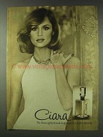1978 Charles Revson Ciara Perfume Ad, Thoroughly Female