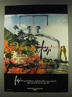 1978 Guy Laroche Fidji Perfume Ad - Flowers Smelled
