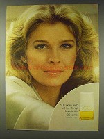 1978 CIE Perfume Ad - Candice Bergen - Things I Love